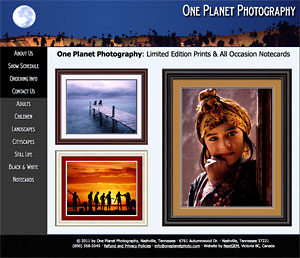NextGem client: One Planet Photography