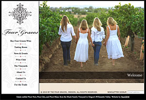 NextGem client: The Four Graces Winery